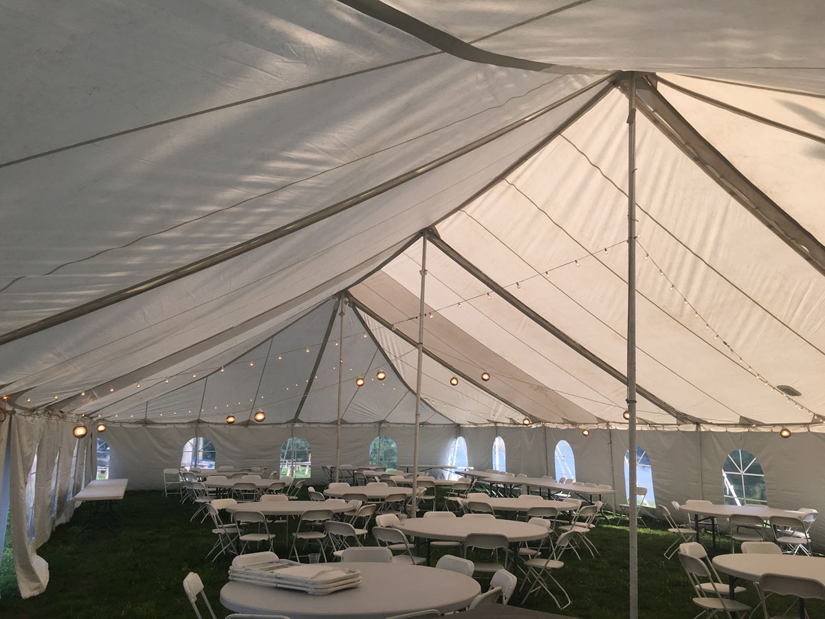 Inside 40 x 80 Regular Jun 02 5 41 04 PM & TENT RENTAL : LAKE OF THE OZARKS - Laurie Tent and Event Rental